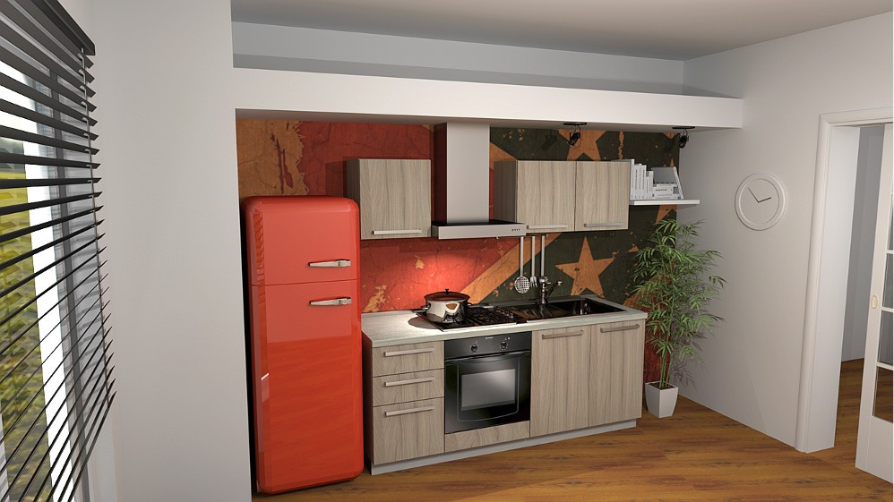 Progettare Cucina 3d. Fabulous Awesome Disegnare With Disegna Cucina ...