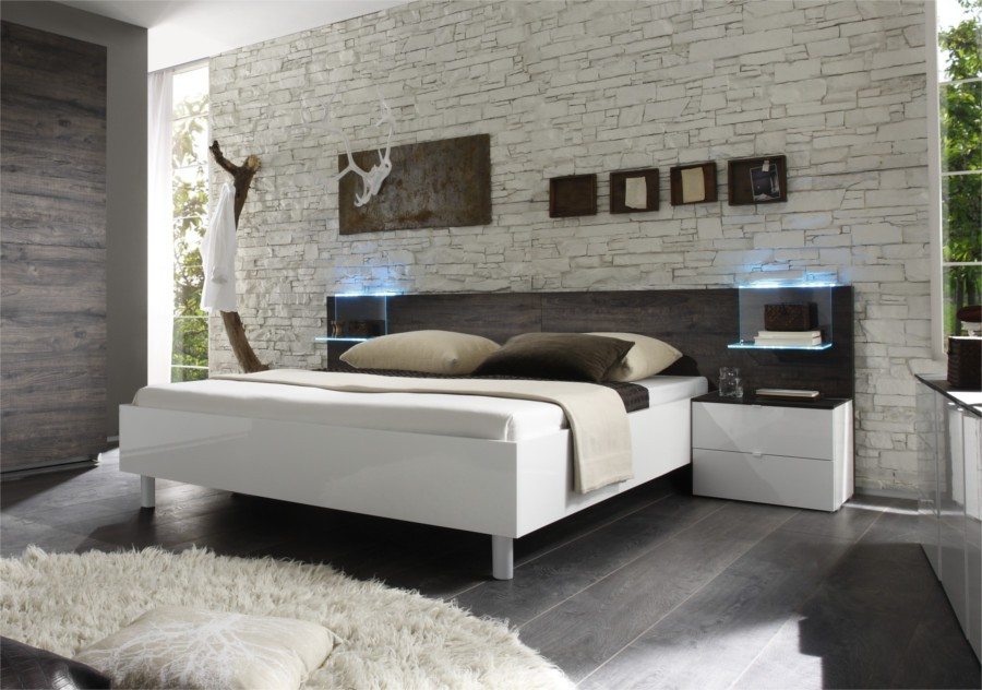 Beautiful Spalliera Letto Matrimoniale Images - Amazing House Design ...
