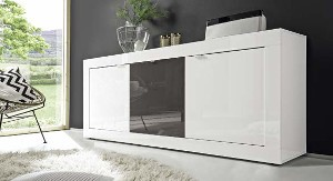 Madia moderna 3 ante design minimal L 160 cm disponibile in Vari ...