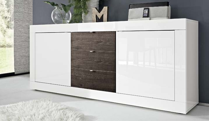 Credenza Moderna Color Tortora : Madia moderna design minimal l cm disponibile in vari colori