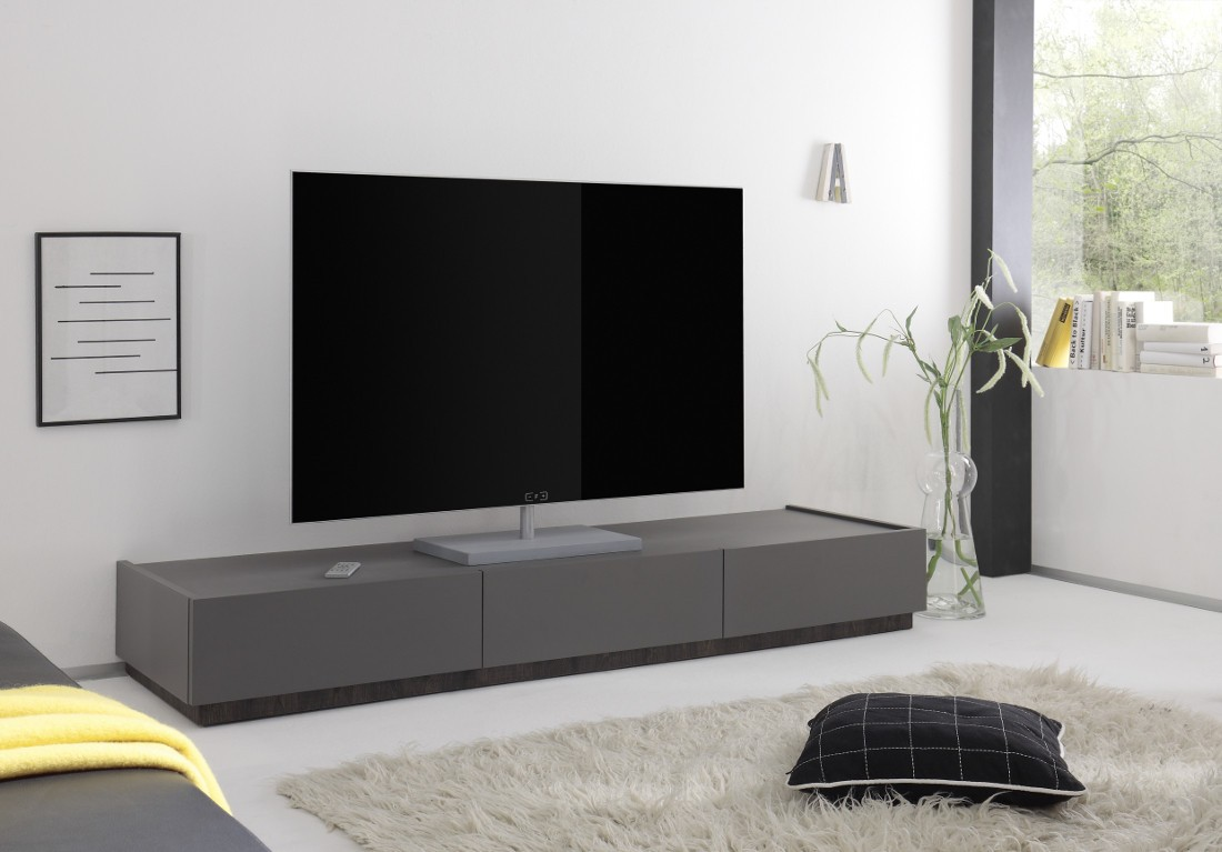 mobile porta tv grigio opaco art 2850 outletarreda. Black Bedroom Furniture Sets. Home Design Ideas