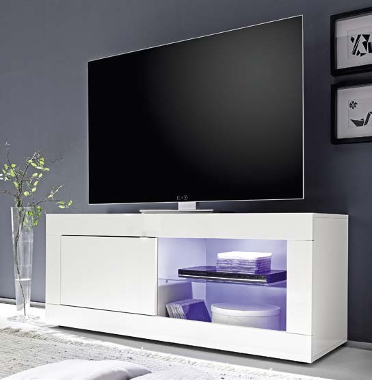 Mobile porta tv moderno l 140 cm disponibile in vari - Mobile basso moderno ...