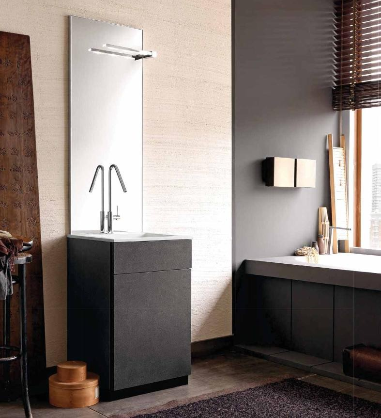 Mobile bagno design moderno base cassettone e cassetto for Design moderno