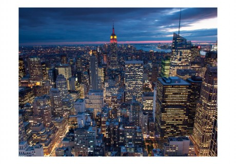Fotomurale - New York - notte
