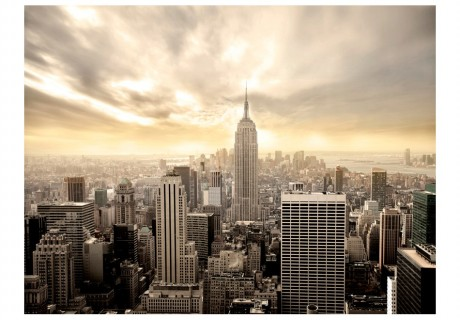 Fotomurale - New York: Manhattan all'alba