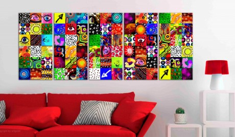 Quadro - Colourful Abstraction