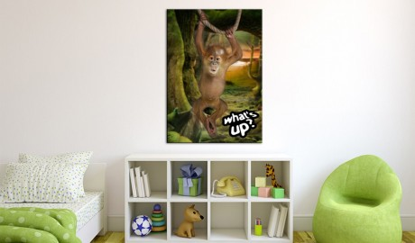 Quadro - Little monkey