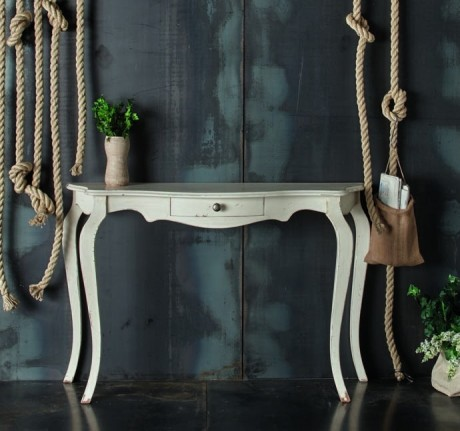 Consolle Shabby chic bianco