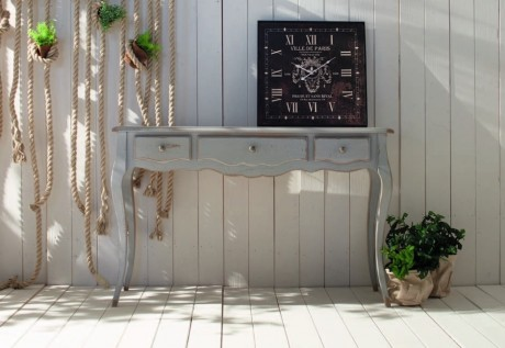 Consolle stile shabby