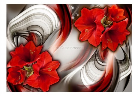 Fotomurale - Amaryllis - Ballad of the Red