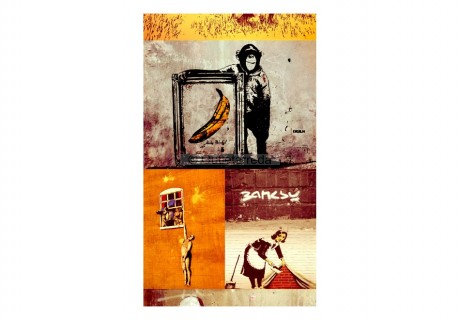 Fotomurale - Collage - Banksy