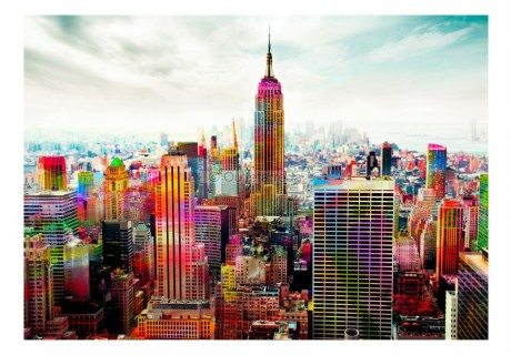 Fotomurale - Colors of New York City