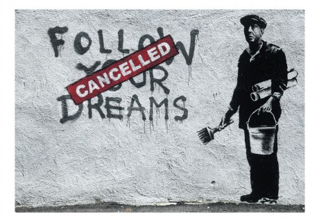 Fotomurale - Dreams Cancelled (Banksy)