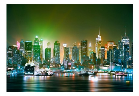 Fotomurale - NY: Enlightened Harbour