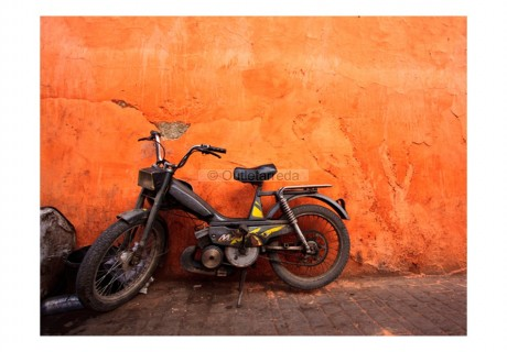 Fotomurale - Old moped