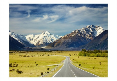 Fotomurale - Southern Alps, New Zealand
