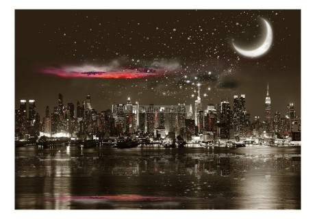 Fotomurale - Starry Night Over NY