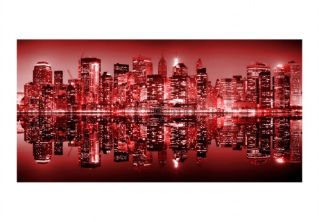 Fotomurale XXL - Red-hot NYC