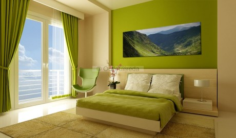 Quadro - Canvas print - In the valley of the mountain