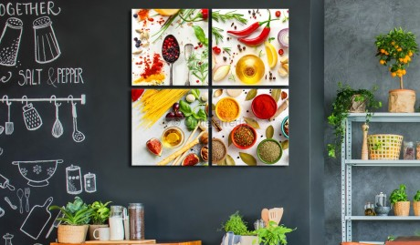 Quadro - Spices of the World (4 Parts)