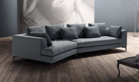 Divano con chaise longue design