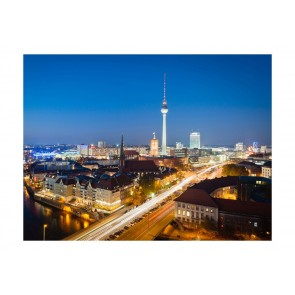 Fotomurale - Berlin by night