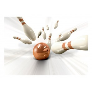 Fotomurale - Bowling
