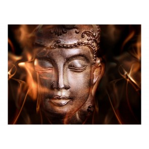 Fotomurale - Buddha. Fire of meditation.