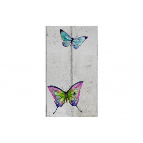 Fotomurale - Butterflies and Concrete