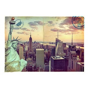 Fotomurale - Cartolina da New York