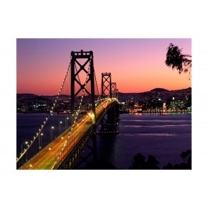 Fotomurale - Charming evening in San Francisco