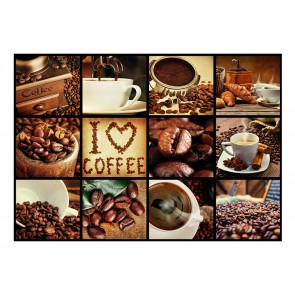 Fotomurale - Coffee - Collage