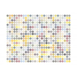 Fotomurale - Colored polka dots