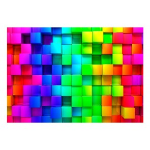 Fotomurale - Colourful Cubes