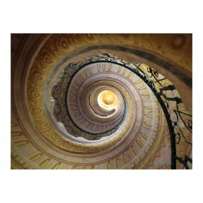 Fotomurale - Decorative spiral stairs
