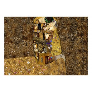 Fotomurale - Klimt inspiration - Golden Kiss