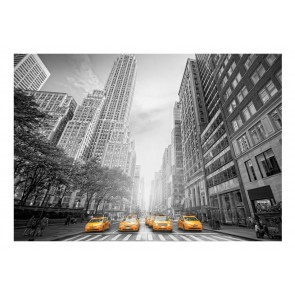 Fotomurale - New York - yellow taxis