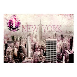Fotomurale - Pink New York