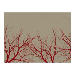 Fotomurale - Red-hot branches
