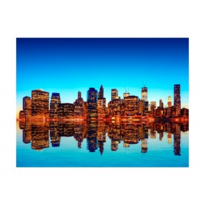 Fotomurale - Skyline of New York from the water