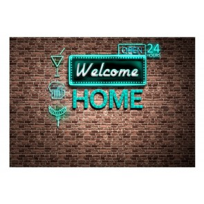Fotomurale - Welcome home - inscription