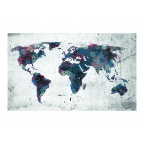 Fotomurale - World map on the wall