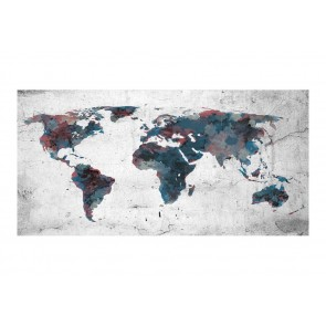 Fotomurale XXL - World map on the wall