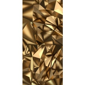 Fotomurale per porta - Photo wallpaper - Golden Geometry I