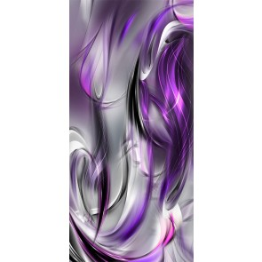 Fotomurale per porta - Photo wallpaper – Purple abstraction I
