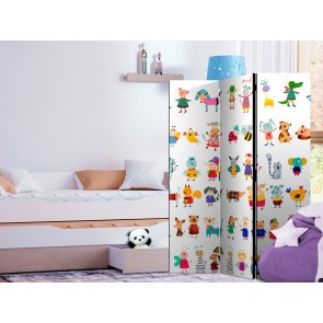 Paravento - Cartoon Pets [Room Dividers]