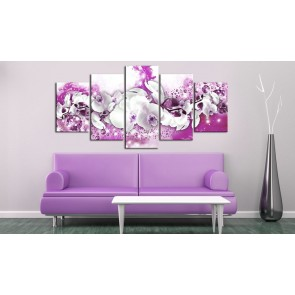 Quadro - Arrival of Pink Orchid