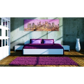 Quadro - Canvas print - Night in New York
