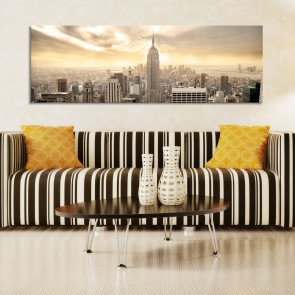 Quadro - New York City among the clouds