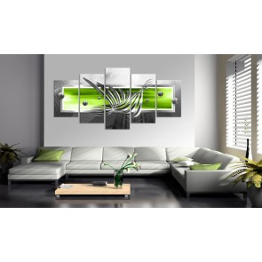 Quadro - Silver Wings (5 Parts) Wide